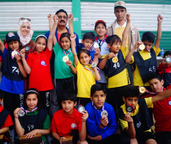 Hat Trick Public School organizes cross-country run
