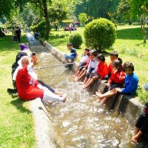 combined picnic of Zakura and Ganderbal branch