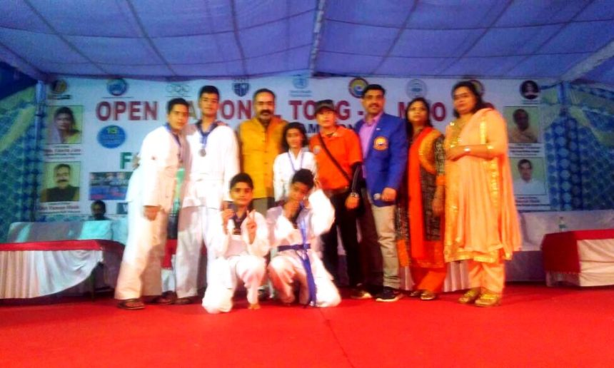 Hattrickians won medal at Tong IL Moo Do championship at Sonipat, Haryana
