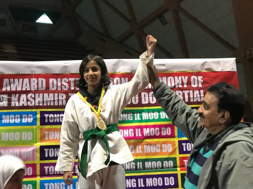 Hattrick shines in Inter-District Tong IL Moo Do unified martial art championship.